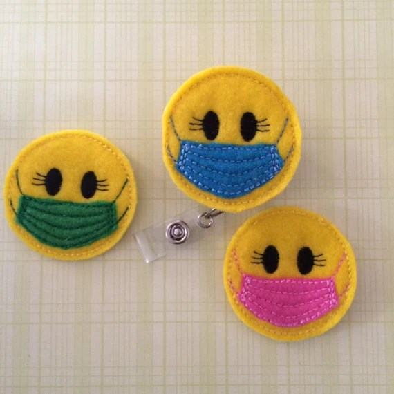 Smiley Face Surgical Mask