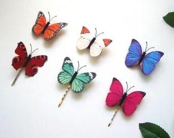 butterfly headpiece etsy