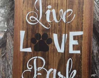 Download Live love bark   Etsy