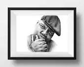 Notorious B.I.G. Drawing....