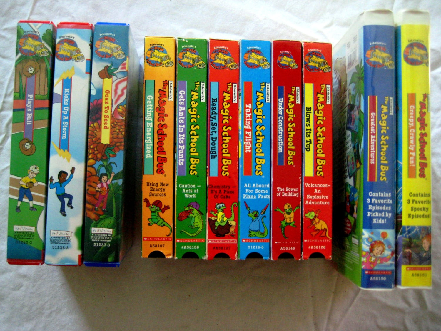Magic School House Lot Of 11 Vhs Tapes S Mrs