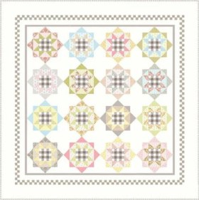 Bailey Quilt Pattern - by Acorn Quilt & Gift Co - Fat Eighth Friendly Pattern