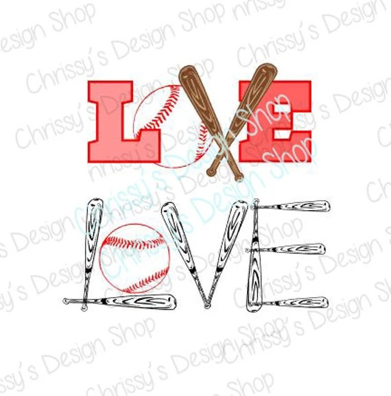 Download Love baseball svg / baseball cut file / baseball words svg