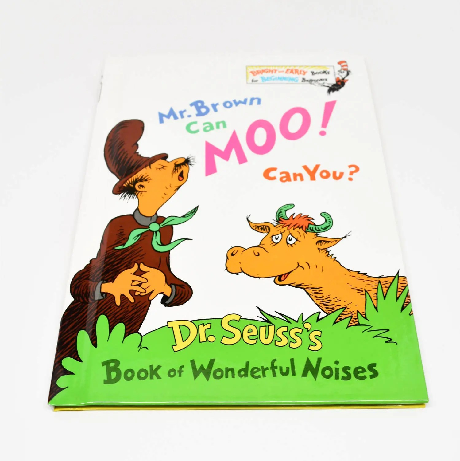 Dr Seuss Mr Brown Can Moo Can You Book