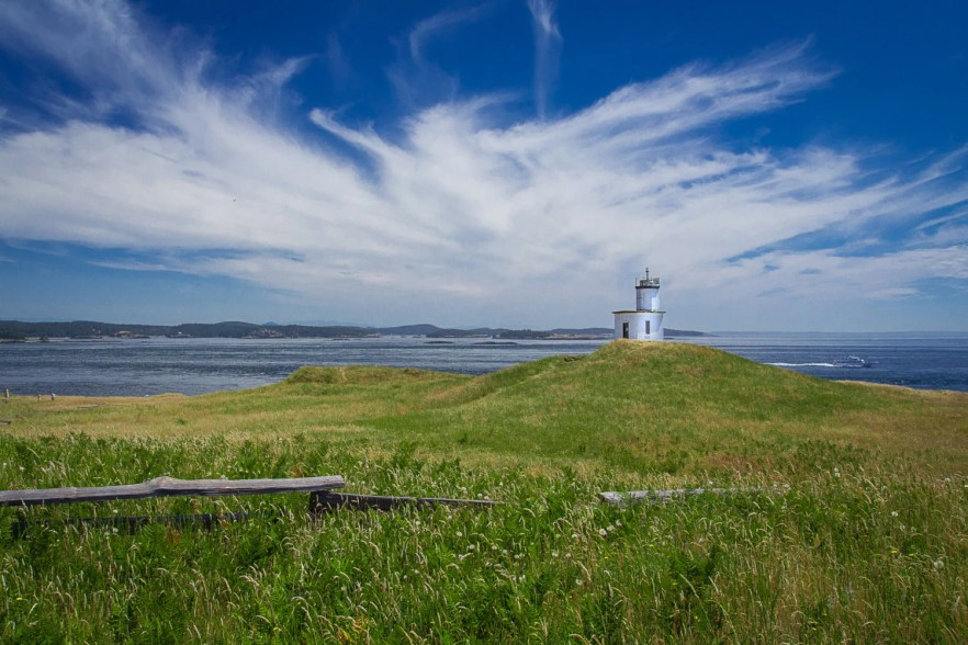 Cattle Point Lighthouse...