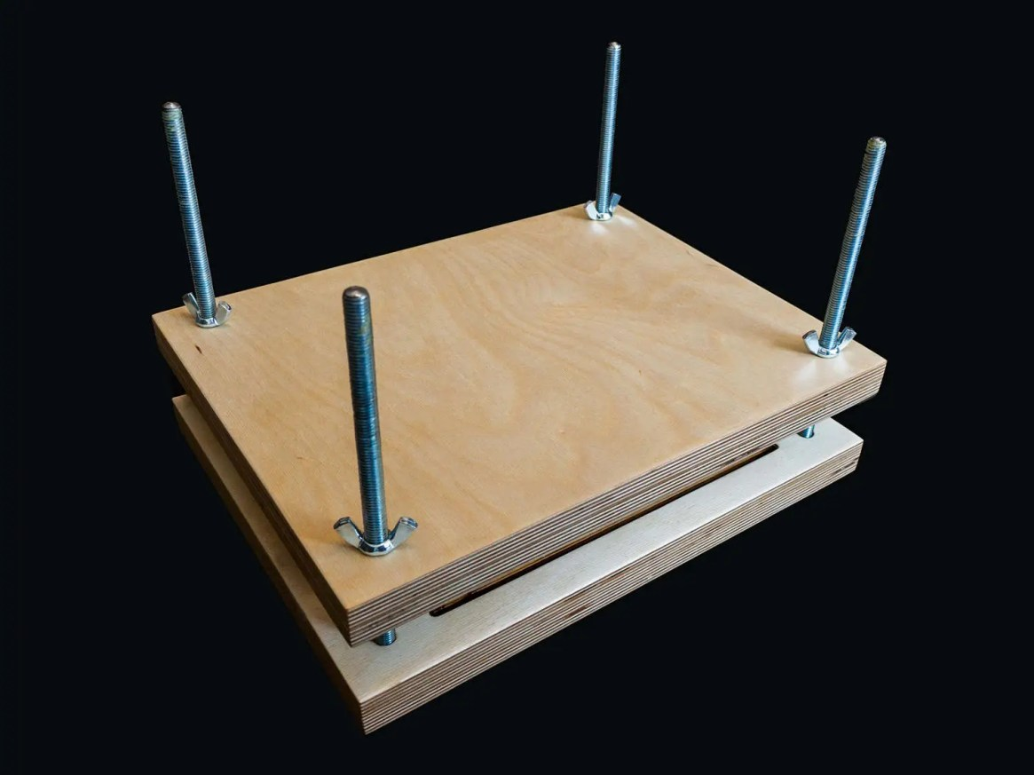 Basic Book Press and Sewing Frame 2-in-1
