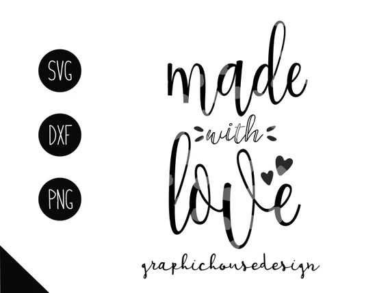 Download made with love svg made with love dxf made with love iron