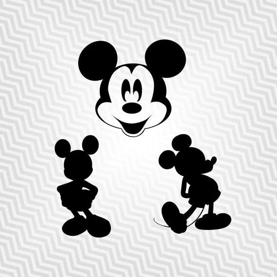 Download Mickey Mouse, Outline, Cutout, Vector art, Cricut ...