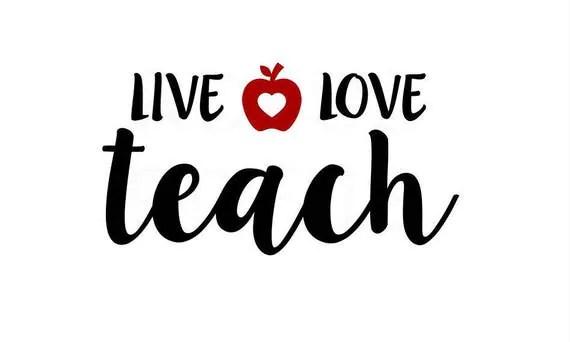 Download Live Love Teach svg, teacher svg, teacherlife svg ...