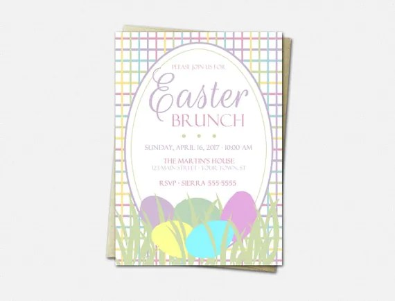 Easter Brunch Ideas: Send Invitations