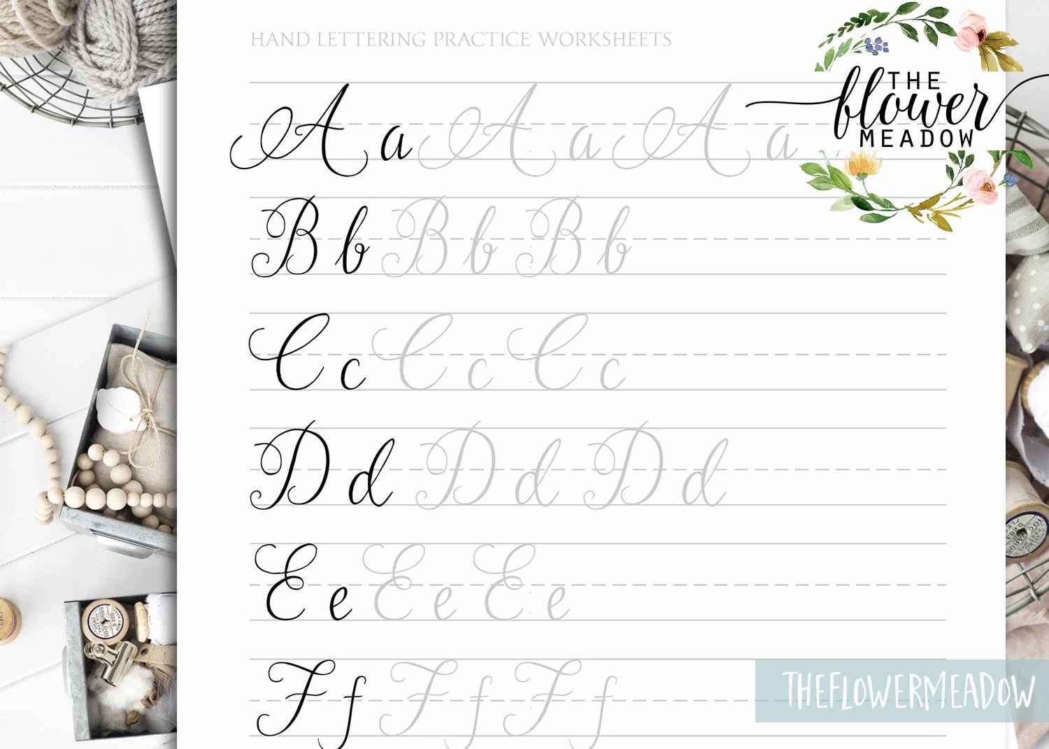 Calligraphy Tutorial Learn Calligraphy Hand Lettering Guide Modern Lettering Worksheets
