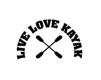 Download Kayak decal | Etsy