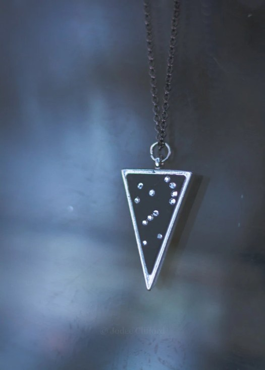 Orion Necklace, Triangle ...