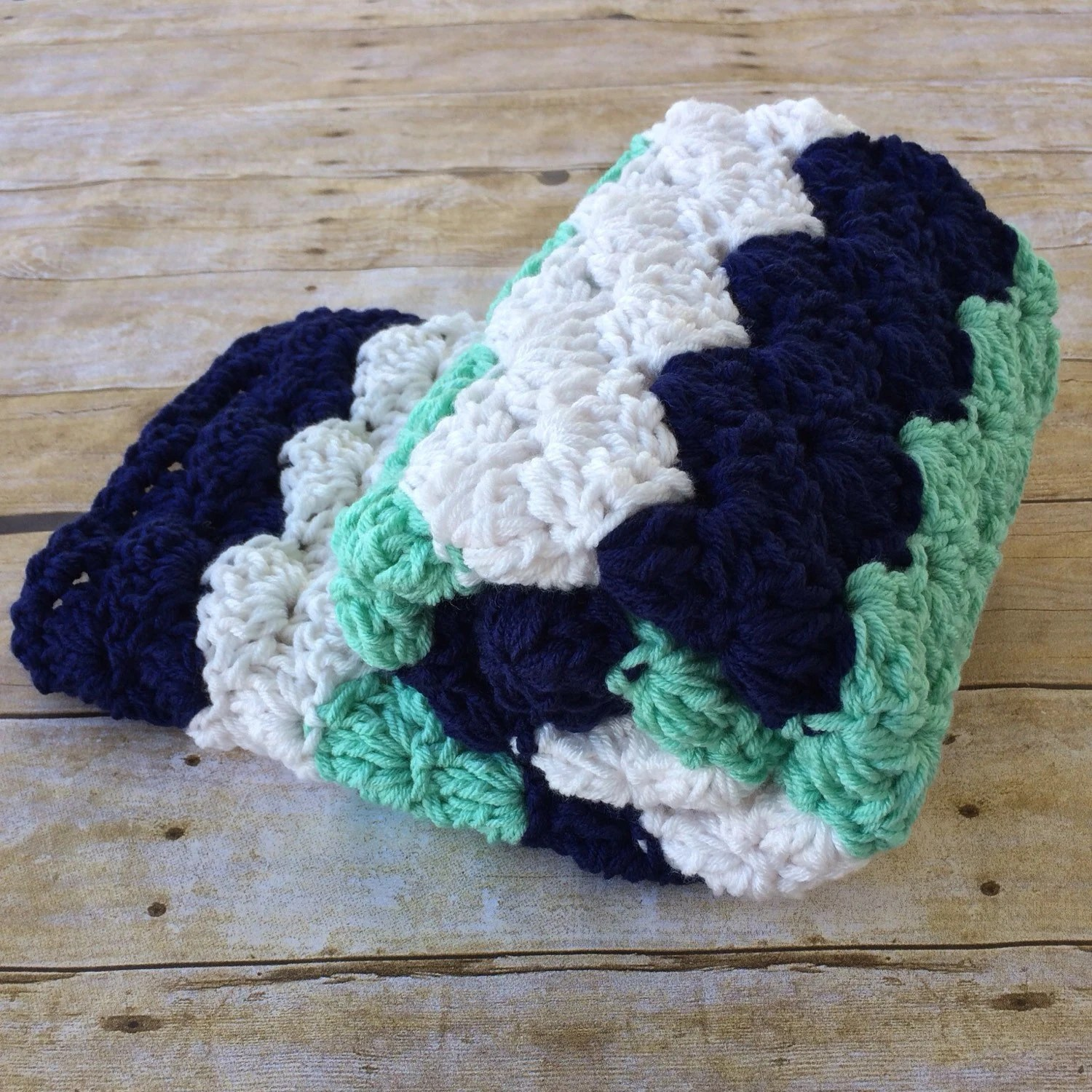 HANDMADE CROCHET BABY BLANKETS AND THROWS By DesignbyAW On