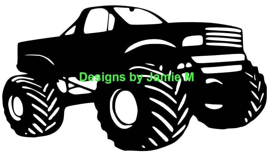 Download Monster Truck SVG