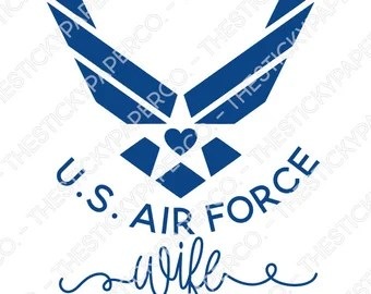 Download Air force decal | Etsy