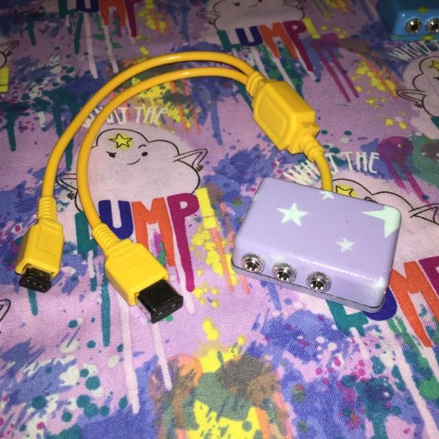 Gameboy > Analog Sync Cable Box+ // DMG & Pocket Color Advance GBA SP Link Ports // Volca Pocket Operator OP1 lsdj nanoloop modular eurorack
