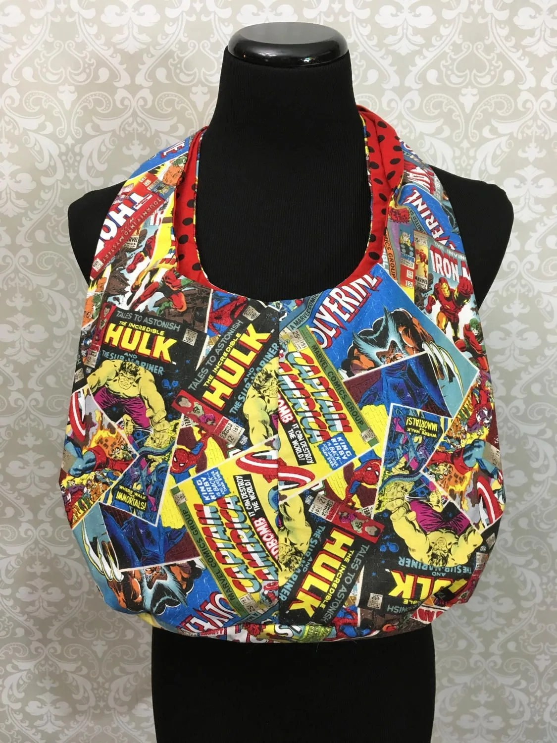 Marvel Comic Covers Purse...
