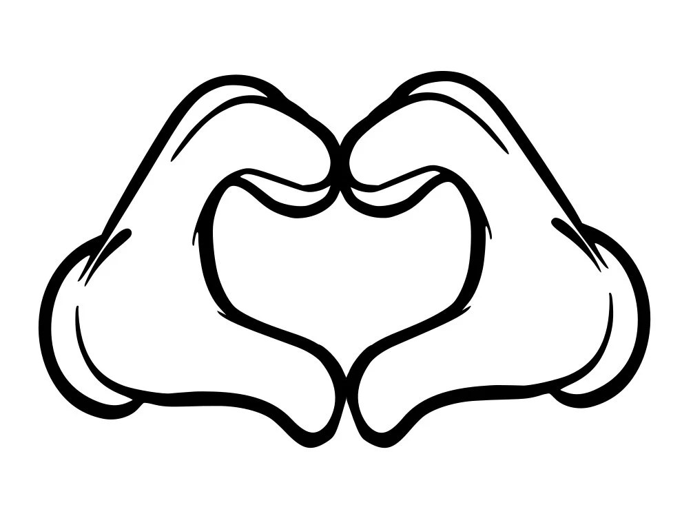 Download Mickey Mouse Love - svg file from MamasControlledChaos on ...