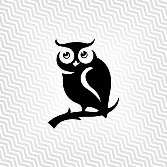Download Owl svg Owl Cutout Owl Silhouette Vector art Cricut