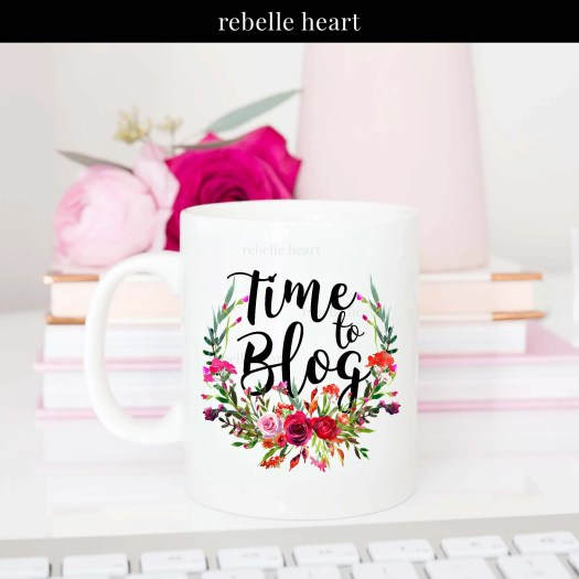 time to bog mug bloggers christmas