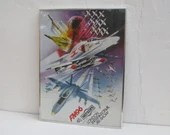 Vintage airplane art, fra...