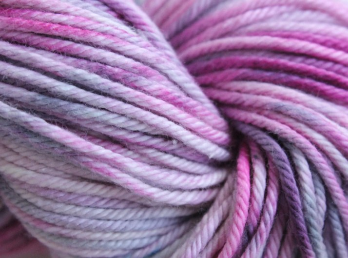 Hand dyed yarn Kirby - ha...