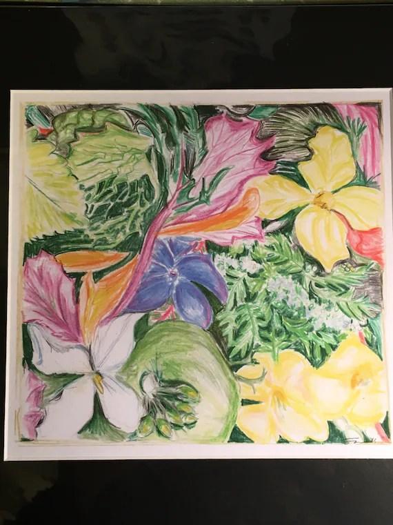 "Print ""Veggie Boquet"""