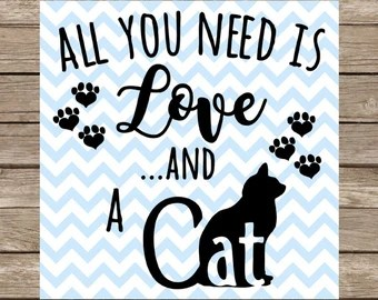 Download Meow SVG Cat svg Cat lover svg Cat lady svg Cut File