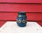Blue Diamond Vase