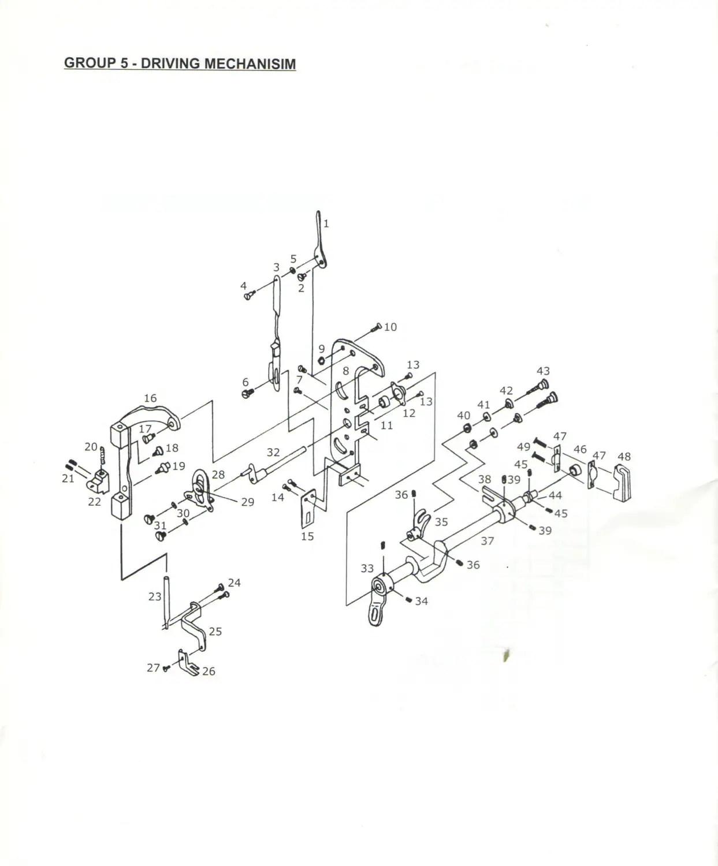 Thompson Mini Walking Foot Sewing Machine Owners Manual