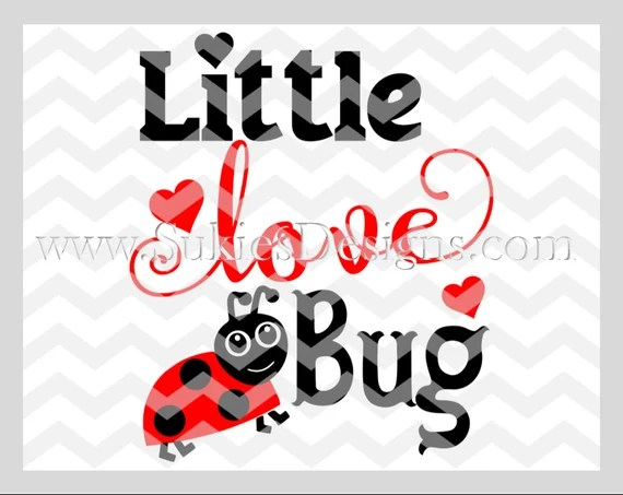 Download Little Love Bug SVG, DXF, PNG Files for Cricut and ...