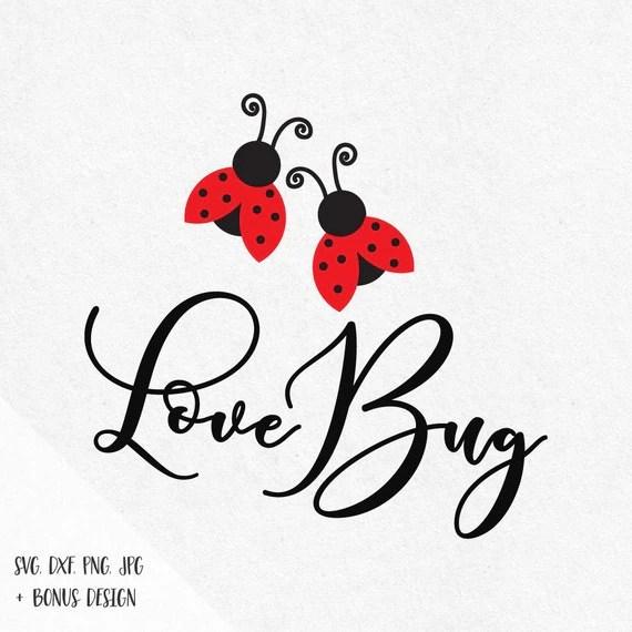 Download Love Bug Svg Ladybug Svg Heart valentine svg love svg