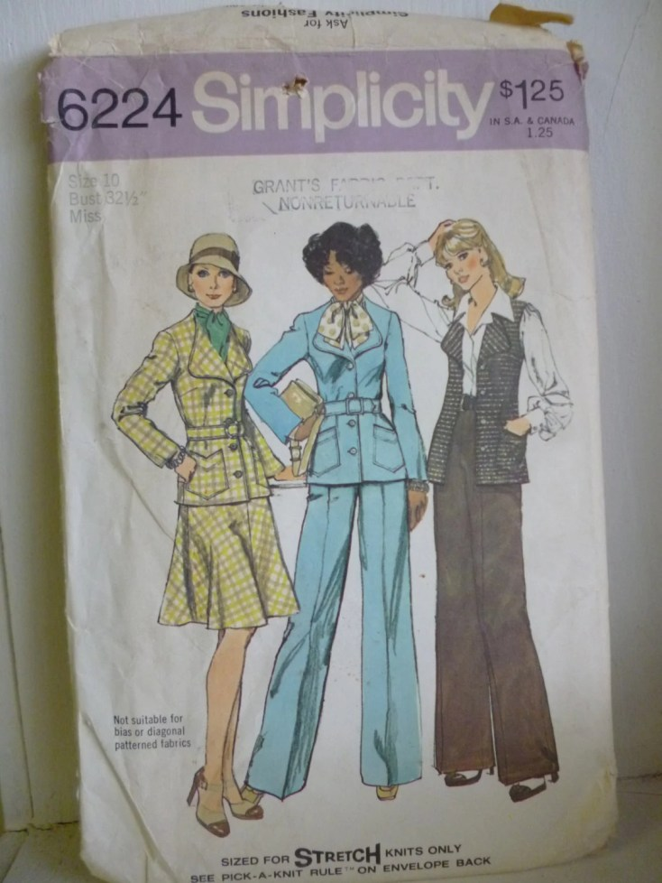 Vintage Simplicity 6224 1...