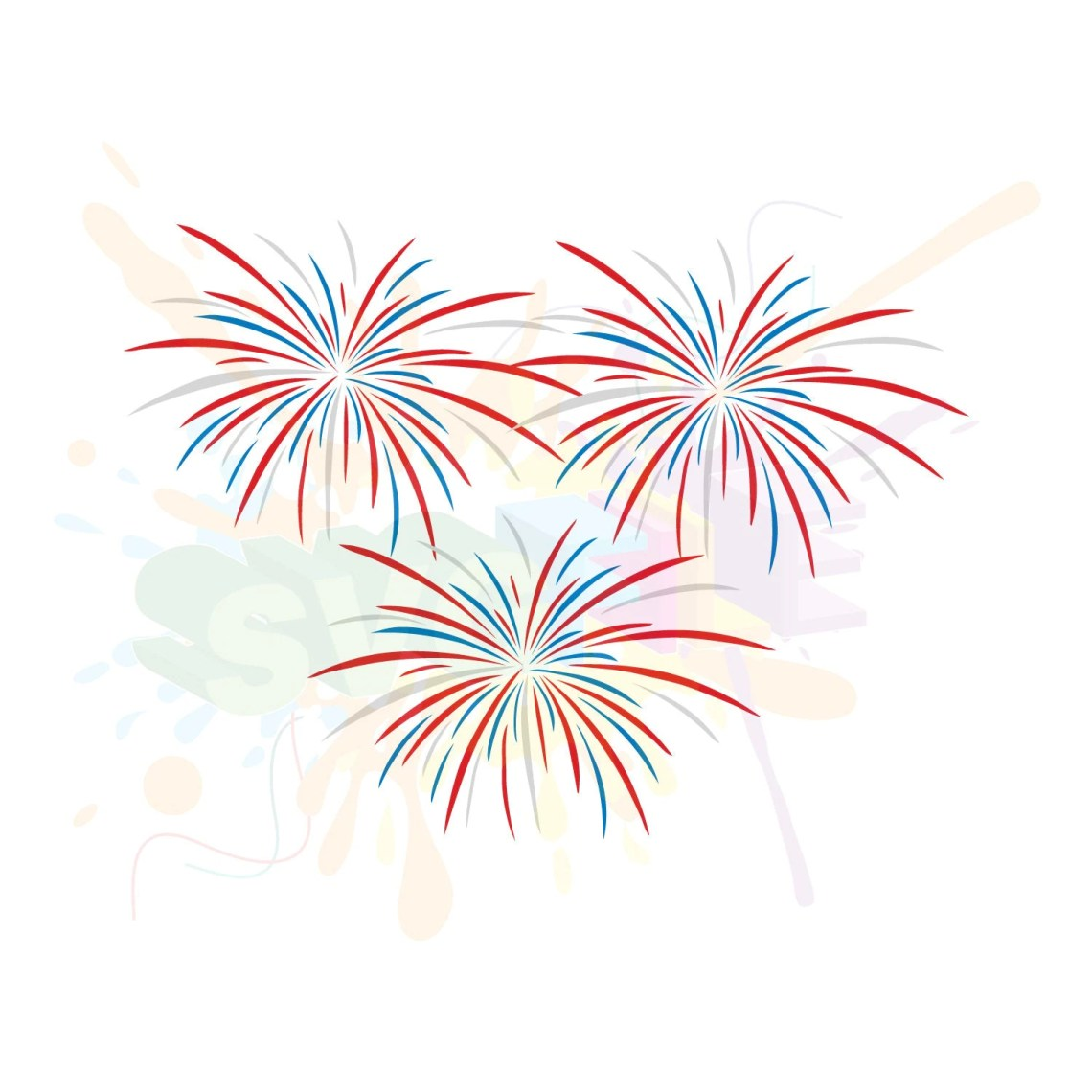 Download Fireworks SVG Files for Cutting 4th of July Cricut Fourth
