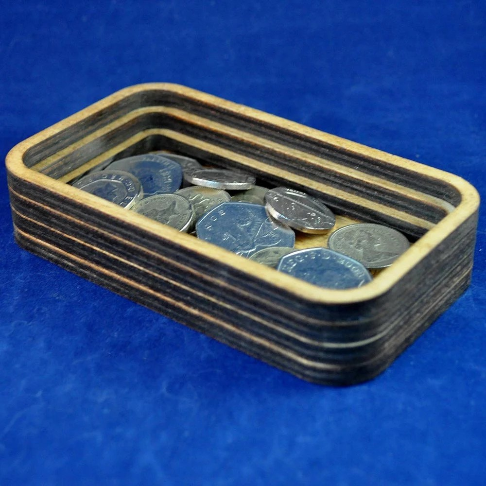 Mini Wooden Valet Tray: C...