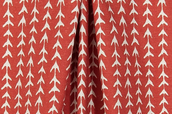 Rustic Red Fabric By The Yard Designer Southwest Tribal