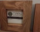 handmade wood frame squar...