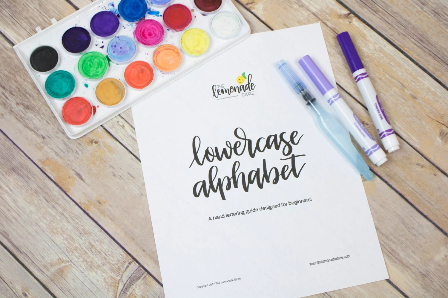 Lowercase Alphabet Practice Guides For Beginners