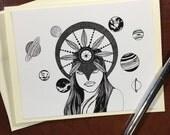 Celestial  - Original Ink...