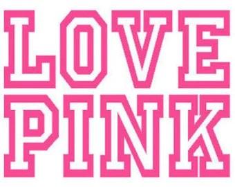 Download Pink victoria secret | Etsy