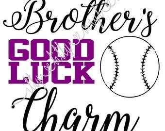 Baseball brother svg | Etsy