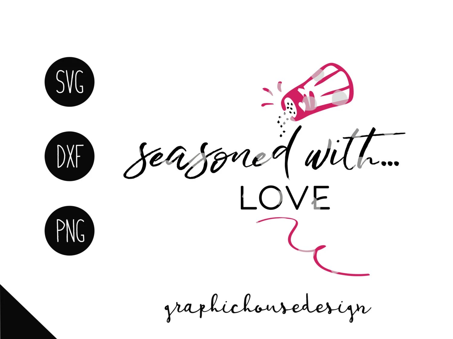 Kitchen Svg Seasoned With Love Svg Seasoned By