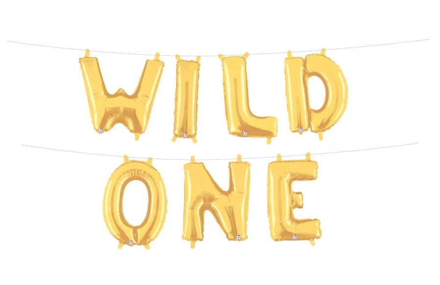 Wild One Letter Balloons Where the Wild Things Are Birthday Party     Il 570xn