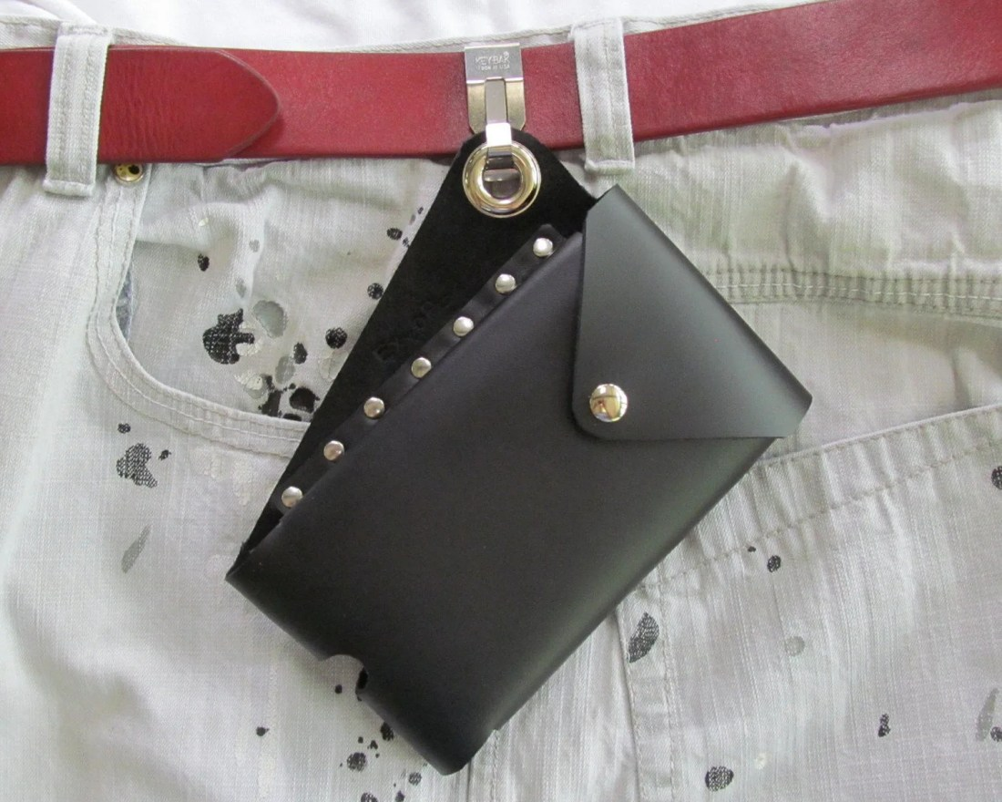 Leather Phone Pouch, Cell...