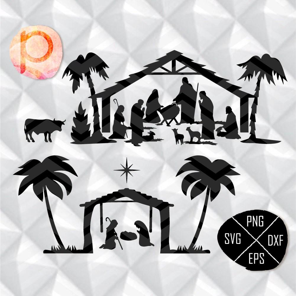 Download Nativity Scene SVG bundle*Christmas Svg*Nativity svg*Oh ...