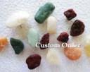 Custom Order: Decorative Rock Push Pins