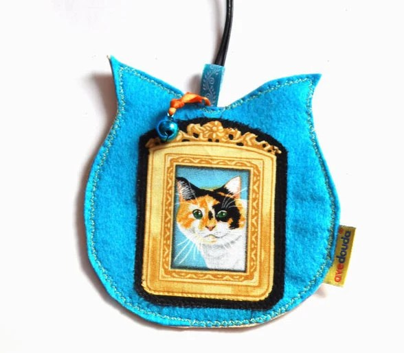 Pet luggage tag, travel label, cat label, travel tag, cat carrier identifier, trip identifier label, pet travel tag,kitten,pussycat,cat gift