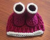 Newborn Baby Hat Bootie P...