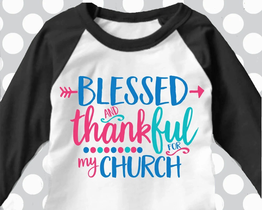 Download Blessed and Thankful svg church svg Jesus svg thankful for